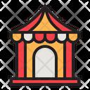 Circus Tent Tent Amusement Icon