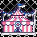 Circus Tent Big Top Circus Icon