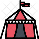 Circus Tent City Icon