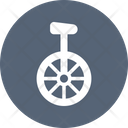 Circus Unicycle Icon