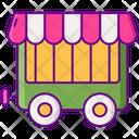 Circus Wagon Wagon Animal Cage Icon