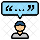 Citation Talk Review Icon