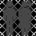 Citizen Couple Family Icon