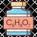Citric Acid Icon