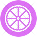 Citrus Fruit Garnish Icon