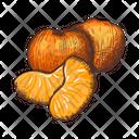 Citrus Satsuma Tree Mandarin Icon