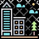 City Building Hotel Icon
