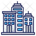 City Urban Metropolis Icon