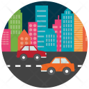 City Traffic Car Icon
