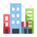 City Buildings Cityscape Icon