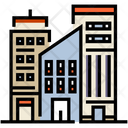 City Buildings Skycraper Icon