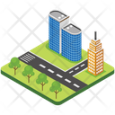 City Building Icon
