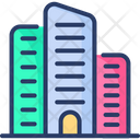 City Building Apartment Office Icon