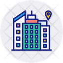 City Building City Location Icon