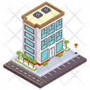 City Architecture City Building Estate Icon