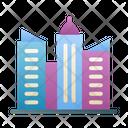 City Building Cityscape Icon
