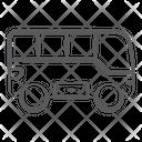 City Bus Coach Automobile Icon