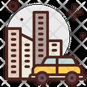 City Cab City City Taxi Icon