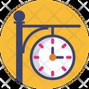 Public Transport City Clock Icon