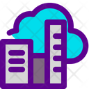 City Clouds Icon