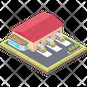 City Farmhouse Structure Icon
