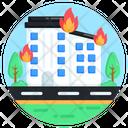 City Fire Icon