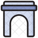City Gate Gate Monuments Icon
