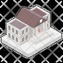 Building Architecture City Hall Icon