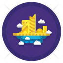 City In The Sky Icon