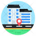Cityscape City Location Road Location Icon