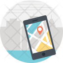 Mobile Pointer Map Icon
