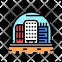 City Under Dome Cosmic City Icon