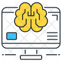 Brain Computational Icon