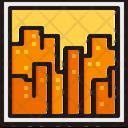 Cityscape Dusk Icon