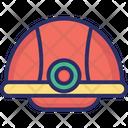 Civil Engineer Helmet Cap Icon