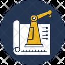 Civil Engineering Crane Lifter Construction Engineering Icon