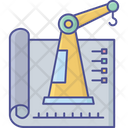 Civil Engineering Crane Lifter Construction Engineering Icon