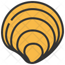 Clam Seafood Food Icon