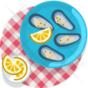 Clam Meal Restaurant Icon