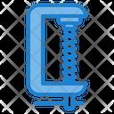 Clamp Repair Tool Construction Icon
