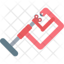 Clamp C Clamp Work Tool Icon