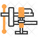 Clamp Tool Construction Icon