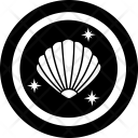 Clams Coin Icon