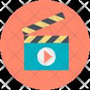 Clapboard Clapperboard Clapper Icon