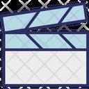 Clapboard Clapper Clapperboard Icon