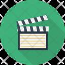 Clapboard Multimedia Device Icon