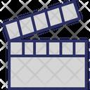 Clapboard Clapperboard Film Board Icon