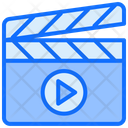 Clapboard Shooting Film Icon