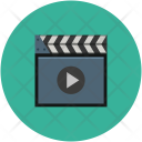 Clapboard Clapper Board Icon