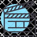 Clapboard Clap Movie Icon